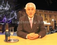 A Polgármester úr újévi köszöntője (Polics József)
