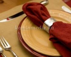 Etikett percek - az étkezés (Hajnal Gabriella)