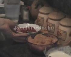 Főzzünk együtt csirkepörköltet (Szabó Noémi)