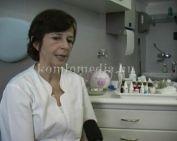A hallásvizsgálatról beszélt a szakember (Dr. Hárságyi Erzsébet)