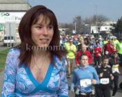 Népszerű volt a maratoni futás a DÖKE-sportolók körében (Balogh Bettina)