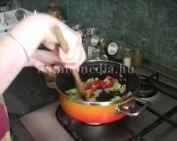 Főzzünk zöldséges rizottót! (Szabó Noémi)