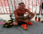 A 426 km-es Párizs-Colmar versenyen vett részt Czukor Zoltán gyalogló (Czukor Zoltán)
