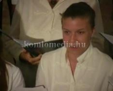 A Komlói pedagógus Kamarakórus koncertet adott Mánfán