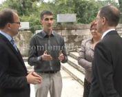 Miniszteri látogatás Komlón (Varga Mihály)