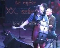 A Beatrice adott koncertet Komlón (Nagy Feró)