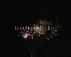 Ünnepi tűzijáték 2014