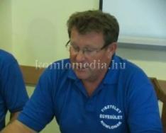 Bemutatkoztak a Tisztelet Komlónak Egyesület jelöltjei (Jégl Zoltán)