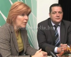 Az MSZP-DK részletesen ismertette a programját (Dr. Barbarics Ildikó, Dr. Szakács László)