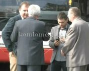 Használt - holland - felújított buszok érkeztek Komlóra (Polics József, Bebics János, Néde