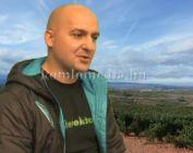 A híres El Camino zarándokutat teljesítette Ambrus Norbert