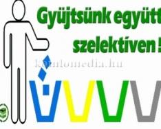 Változik a szelektív hulladékgyűjtés menete jövőre (Szeitz Gábor)