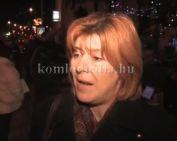 Újabb tüntetés a kormány bukásának érdekében (Barbarics Ildikó)
