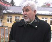 Megújult az óvoda tetőszerkezete (Polics József, Kopasz Károlyné Marika)