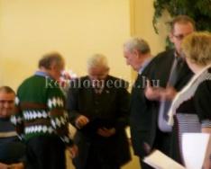 Újabb kitüntetés a polgárőrnek (Deák Imre)