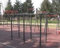 Új fittness park kerül átadásra Szilvásban (Polics József)