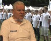 Rangos kitüntetés a Polgárőrség vezetőjének (Deák Imre)