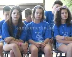 Beregszászi küldöttség érkezett Komlóra (Nagy Anna)