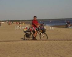 Életéről mesélt a híres kerékpáros (Szinyákovics Béla)