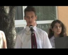 A Szilvási Általános Iskola ballagása 2015