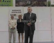 17. Komlóért-Expo megnyitója (Szabó Zsolt, Polics József, Ferenczy Tamás)