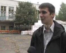 Új nyílászárókat és szigetelést kap a szakiskola (Kovács Balázs)