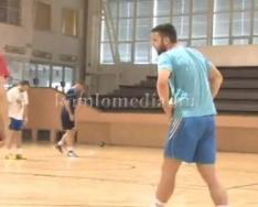 Következő mérkőzésére készül a kézilabdacsapat (Ratko Djurkovic)