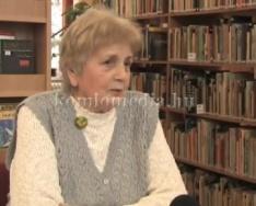 30 éves a Komlói Nyugdíjas Könyvbarát Kör (Czanik Istvánné)