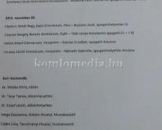 Megállapodást kötött a gimnázium és a Pécsi Tudományegyetem orvosi kara