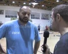 Újabb 2 pont megszerzésére készül a csapat (Ratko Djurkovic)