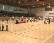 Óvodások zsivalyától volt hangos a sportcsarnok (Miltner Tünde, Németh Tamásné)