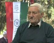 Zászlót avatott a Komlói Erdélyi Kör (Szedeli József)