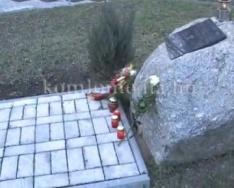 Szent Borbálára emlékeztek Újtelepen és a múzeumban is (Polics József, Kőszegi Ernő)