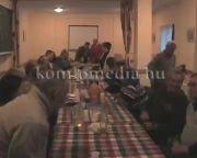 A Tisztelet Komlónak Egyesület évrétékelő gyűlésén jártunk (Jégl Zoltán)