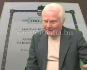 Nívódíjjal gazdagodott a komlói egyesület (Szarka Elemér)