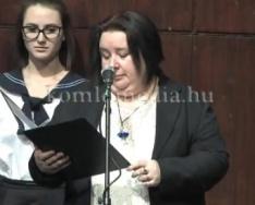A Nagy László Gimnázium szalagtűző ünnepélye 2017