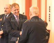Hatalmas elismerést kapott a Komlói Polgárőr Egyesület (Deák Imre)