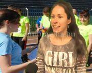 Tavasszal ismét DÖKE futórendezvény volt a sporttelepen (Balogh Bettina)