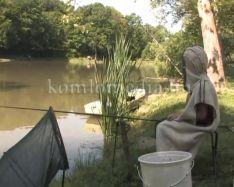 A gyereknapi horgászversenyen jártunk (Ambrus József)