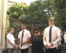 A Kodály Zoltán Ének-zenei Katolikus Általános Iskola ballagása 2017