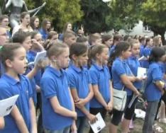A 21. Kodály Zoltán Nemzetközi Gyermekkórus fesztivál megnyitó ünnepsége