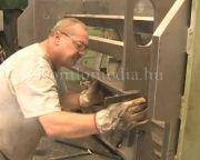 Steel Art a Lakics Kft-nél (Lakics Péter, Polics József)