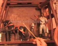 Újabb maketteket készített az egykori bányász (Varga Péter)