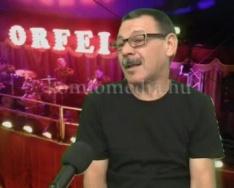 Cirkuszban zenél az egykori komlói muzsikus (Bartos Ferenc)