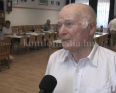 Új könyvét mutatta be a híres író (Moldova György)