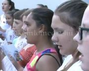 A szombati open singing programja