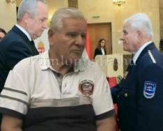 Magyar Ezüst érdemkereszt kitüntetés a polgárőrnek (Deák Imre)