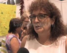 A magyarhertelendi kézműves termékekről beszélgettünk (Szeledi Katalin)