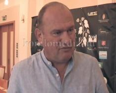 A Hét Domb Filmfesztivál komlói sajtótájékoztatója (Magyar Ferenc, Hoppál Péter, Polics Jó