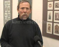Kisgrafika és ex libris kiállítás a Közösségek Házában (Bálint Ferenc)